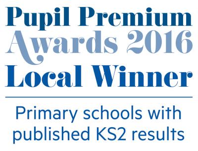 Pupil Premium Awards winner logo